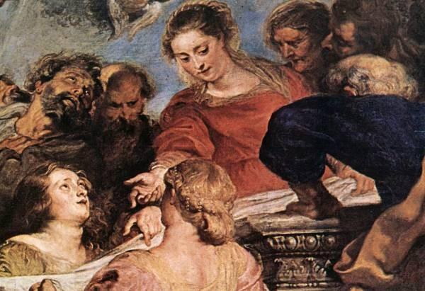 Rubens Assumption of the Virgin 1626 detail2